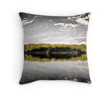 Wamberal Lagoon Throw Pillow