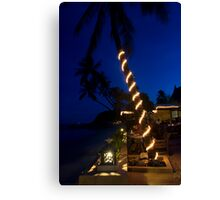 Rummanah Evening At Rummanah Boutique Hotel Canvas Print