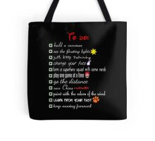 To Do List - Disney Style Tote Bag