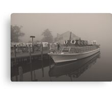 Miss Cumbria, Becalmed!! Canvas Print