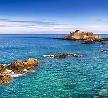 Fort National at St. Malo by yeamanphoto