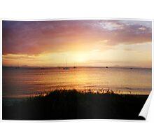 Great Keppel Sunset Poster
