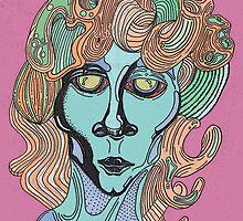 Jim Morrison Portrait by braedenarnold