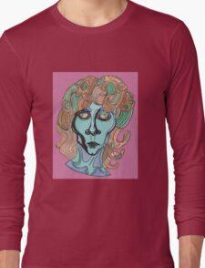 Jim Morrison Portrait Long Sleeve T-Shirt