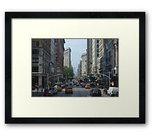 The City That Never Sleeps Framed Print