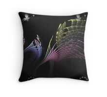 Magic Wings Throw Pillow