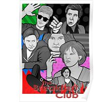breakfast club 30th anniversary collage Poster