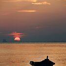 Setting Sun by Steven  Siow