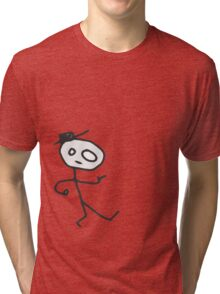 Mr Hatman Tri-blend T-Shirt