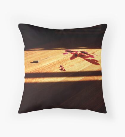 Can't get blood out of a stone Throw Pillow