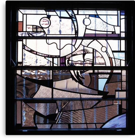 Study Window, Greenwich by Jeffrey Hamilton