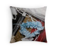 Bridal Still Life Throw Pillow