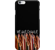 WE ARE CHARLIE iPhone Case/Skin