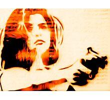Girl gun Photographic Print