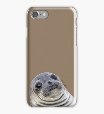 Uncomfortable Situation Seal iPhone Case/Skin