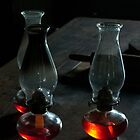 Three Oil Lamps by Billlee