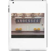 Paris Metro iPad Case/Skin