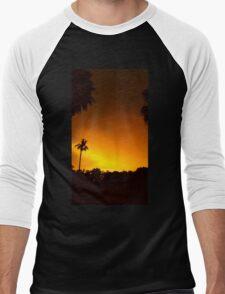 Sunday Sunset Men's Baseball ¾ T-Shirt