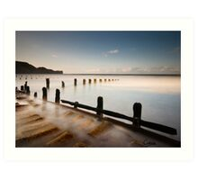 Sandsend: North Yorkshire Art Print