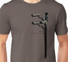 Smile you're on camera =P Unisex T-Shirt