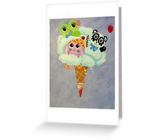 Cream Of The Cloud Greeting Card