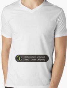 Achievement Unlocked - Create Offspring Mens V-Neck T-Shirt