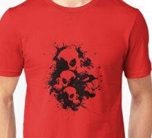 Cascading Skulls Unisex T-Shirt