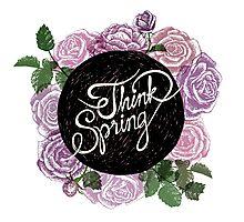 Think spring Photographic Print