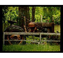 Retired Photographic Print