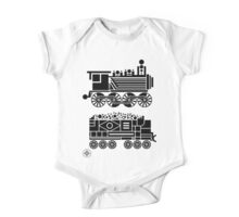 steam engine One Piece - Short Sleeve