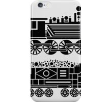 steam engine iPhone Case/Skin