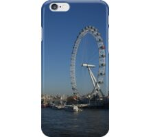 London Eye from Westminster Bridge iPhone Case/Skin