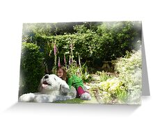 Emily & Wilfred Take Off Greeting Card