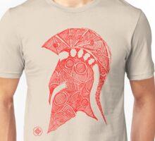 spartan helmet sketch Unisex T-Shirt