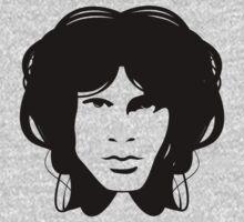 Jim Morrison (black) by Brad Sharp