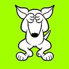English Bull Terrier Hide  by Sookiesooker