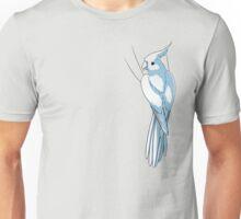 Whiteface Lutino Cockatiel Unisex T-Shirt