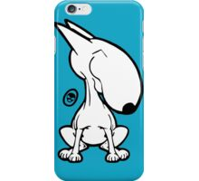 English Bull Terrier Smug Sit iPhone Case/Skin