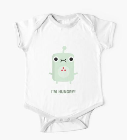 Little Monster - I'm Hungry! One Piece - Short Sleeve
