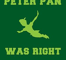 Peter Pan Was Right by Konaookami