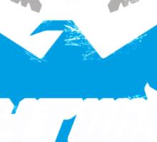 Grayson Park Nightwings Grey Blue (02 of 04) Sticker