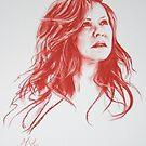 Carol Decker Conte sketch by Melissa Mailer-Yates