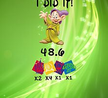 Dopey challenge by Laurengrace88