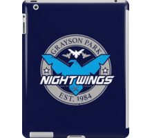 Grayson Park Nightwings Grey Blue (02 of 04) iPad Case/Skin