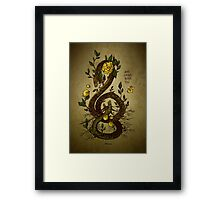 WHAT GROWS INSIDE YOU Framed Print
