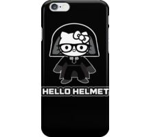 Hello Helmet iPhone Case/Skin