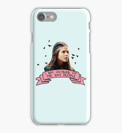 Octavia of the Sky People iPhone Case/Skin