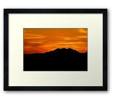 Vegas Sunrise HDR 2 Framed Print