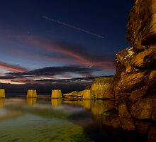 Coogee Rockpool by EvanJT