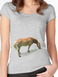 Horse from Kristberg (T-Shirt & iPhone case) Women's Fitted Scoop T-Shirt